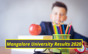 Mangalore University Results 2020 Semester 1st 2nd 3rd 4th 5th 6th www.mangaloreuniversity.ac.in Mangalore University Examination Results 2019-2020
