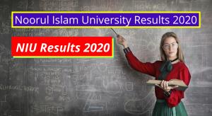 Noorul Islam University Results 2020 niuniv.com Exam Results www.niuniv.com Noorul Islam University Examination Result 2019 2020