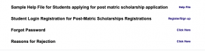 Jharkhand Scholarship 2020 www.ekalyan.cgg.gov.in