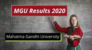 MGU Results 2020 MG University Kottayam Degree Results mgu.ac.in MGU Degree Results 2019-2020 1st 2nd 3rd 4th 5th 6th Semester Exams