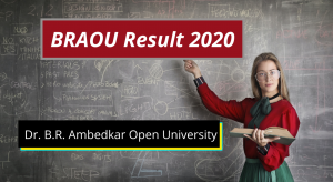 BRAOU Result 2020 UG PG Semester Score Card Download braou.ac.in Dr. B.R. Ambedkar Open University Examination Results 2019-2020