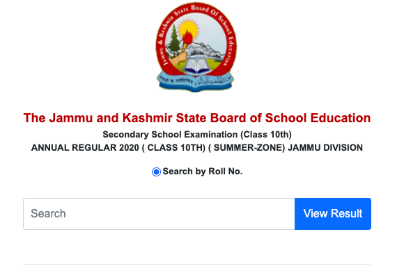 jkbose.ac.in 8th class result 2020 check online link publishing date