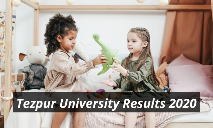 Tezpur University Result 2020 BA BSC BCOM P.hd B.ED www.tezu.ernet.in Tezpur University Latest Declared Examination Results 2019 - 2020 Download
