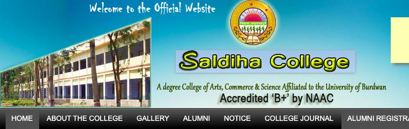 Saldiha College Merit List 2020 1st 2nd 3rd merit List Published only Jobsandhan.com