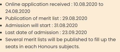 Ananda Marga College Merit List 2020 Important Dates for Admission Published here