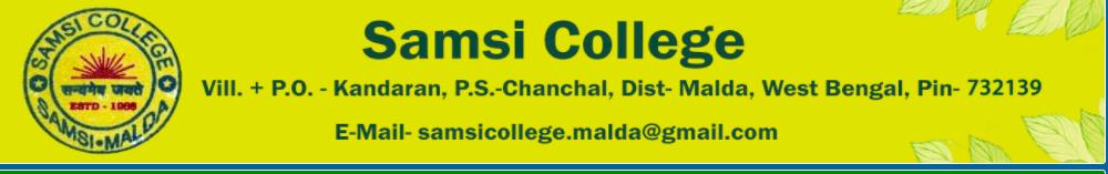 Samsi College Merit List 2020 PUBLISHED