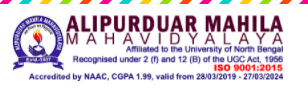 Alipurduar Mahila Mahavidyalaya Merit List 2020 published