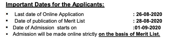 Savitri Girls' College Merit list 2020 Important Date for Admission