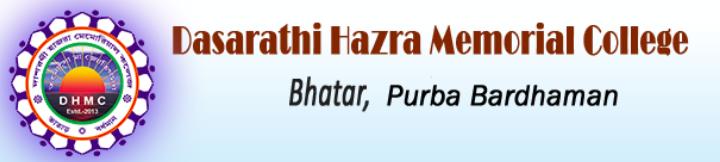 Dasarathi Hazra Memorial College Merit List 2020 Published