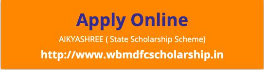 Aikyashree Scholarship 2020 Online Application www.wbmdfcscholarship.gov.in.