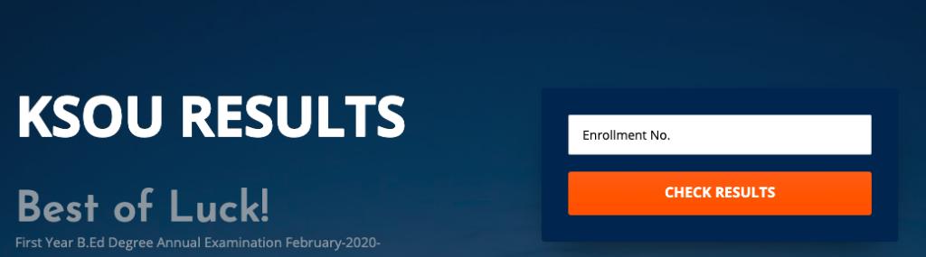 ksou mysore results checking links 2020