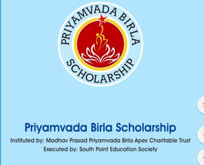 Priyamvada Birla Scholarship 2020 Upload here