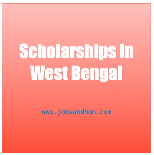 scholarship in west bengal - wb scholarship list 2020