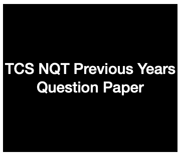 tcs nqt previous years question paper downloading links
