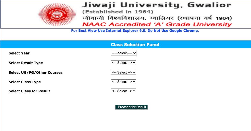 Jiwaji University Result 2020 Download here!!