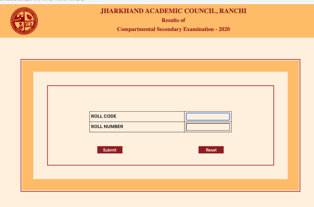 JAC 12th Supplementary Result 2020 check now