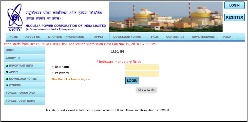 NPCIL Stipendiary Trainee Admit Card 2021 Exam Date Hall Ticket