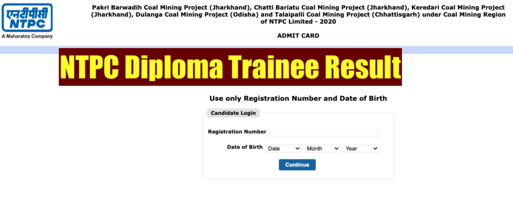 ntpc diploma trainee result 2021 check online cut off marks ntpccareers.net