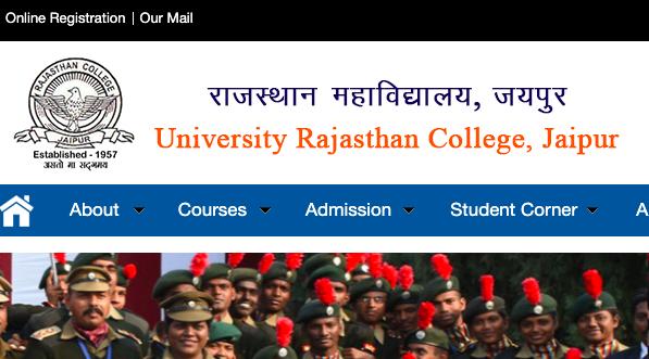 rajasthan college cut off list 2020-21 declared notice