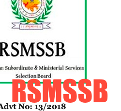rsmssb rajasthan stenographer admit card publishing date 2020 check exam date
