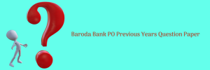 bank of baroda po previous question paper download old solved model pdf set prctice sample