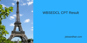 wbsedcl office executive result 2019 check online expected cut off marks download merit list www.wbsedcl.in