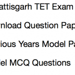 cg tet previous years question paper download chhattisgarh teacher eligibility test solved model set practice mcq questions answers old chhattisgarh cgvyapam