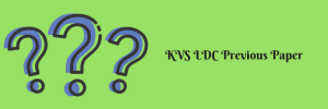 kvs previous years question paper download kendriya vidyalaya sangathan