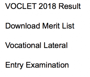 voclet 2018 result download merit list publishing date expected cut off marks wbscte webscte.org