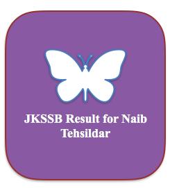 jkssb naib tehsildar exam result 2018 check online cut off marks 2015 jammu & kashmir ssbjk.in jkssb.nic.in